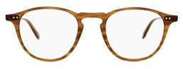 Garrett Leight blond tortoise round panto optical frame