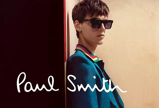 young man wearing Paul Smith sunglasses