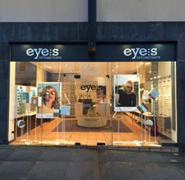 contact eyes optometrist South Yarra Toorak Road shop front view