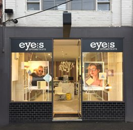 contact eyes optometrist Richmond Swan Street shop front view